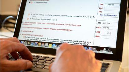 Ruim 300.000 minder aangiftes via Tax-on-web