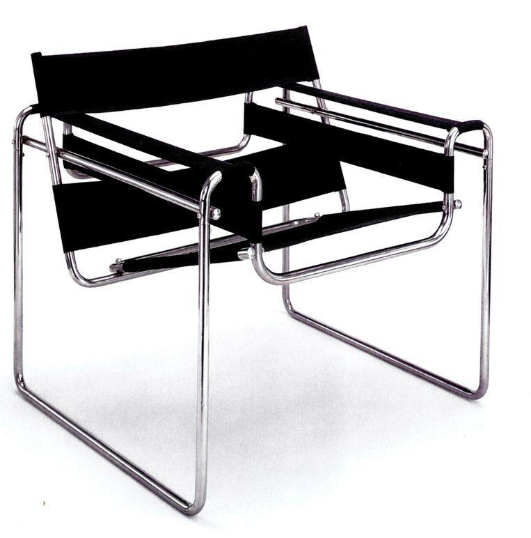 Wassily Chair, Marcel Breuer, 1925. Beeld .
