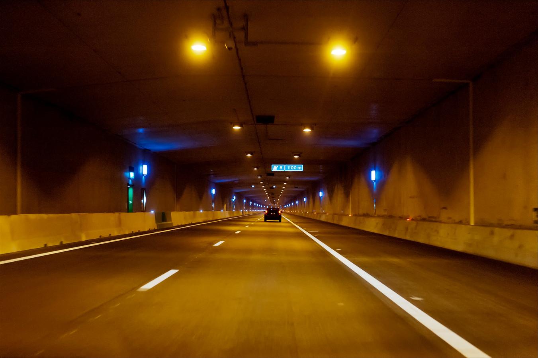 De Leidscherijn tunnel