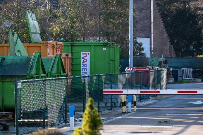 Het recyclagepark van Puurs