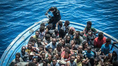 Aantal bootmigranten over Middellandse Zee gehalveerd