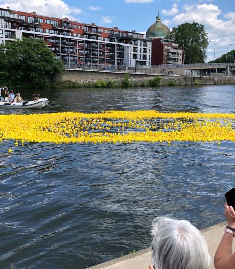 12.500 canards en plastique dans La Meuse