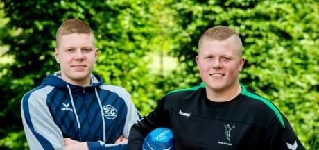 Handbalbroertjes Versteijnen zoeken hun grenzen op: 'Doel blijft om in de eerste Bundesliga te spelen'