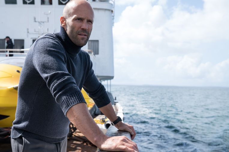 Jason Statham in 'The Meg'.