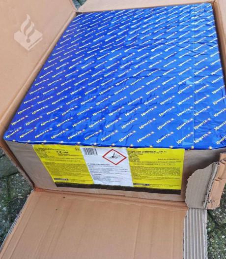 Politie neemt 300 kilo illegaal vuurwerk in beslag