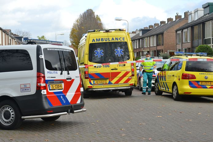 Steekincident in Seringenlaan in Breda, donderdag 12 november.