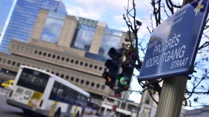 Tijdelijke bushalte van De Lijn op de Vooruitgangstraat mag er niet zijn