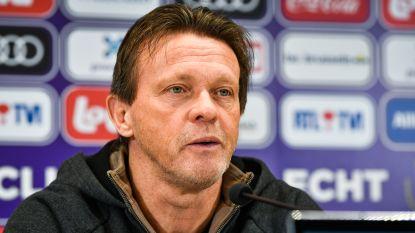 """Vercauteren: """"Club Brugge favoriet? Kunnen wij als Anderlecht zeggen dat Club favoriet is?"""""""