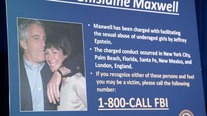 Ghislaine Maxwell, ex-medewerkster van Jeffrey Epstein, pleit onschuldig en mag niet vrij op borg
