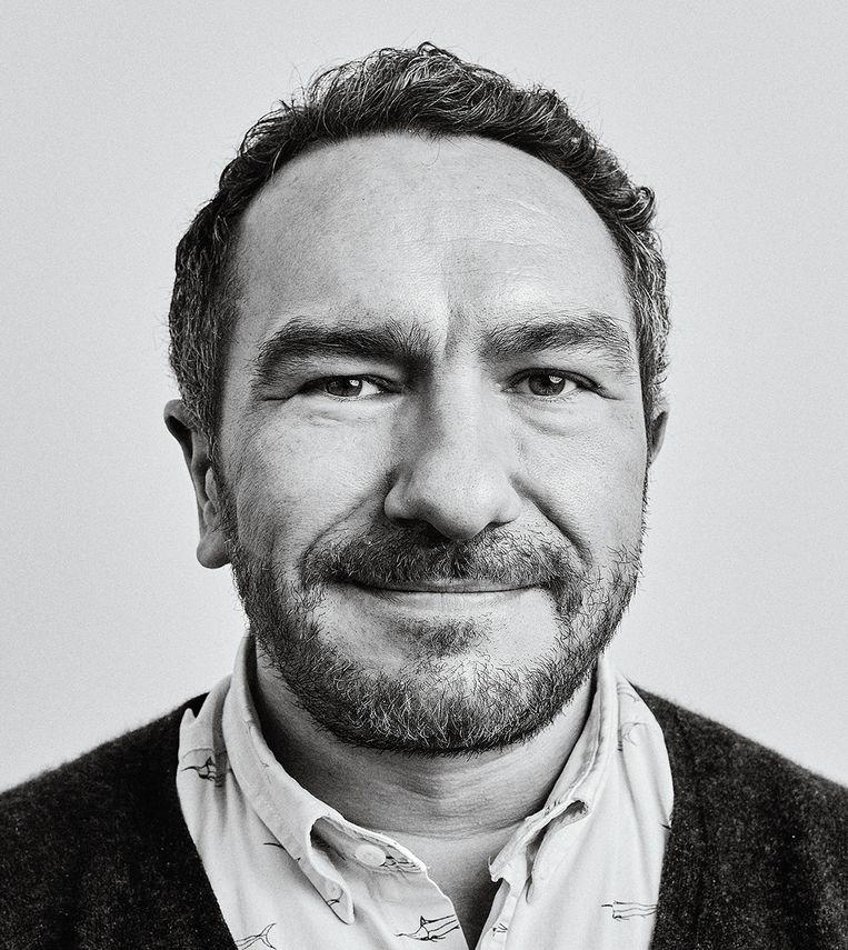 Robin Celikates, hoogleraar sociale filosofie aan de Freie Universität Berlin, gespecialiseerd in het thema burgerlijke ongehoorzaamheid. Beeld Rainer Christian Kurzeder