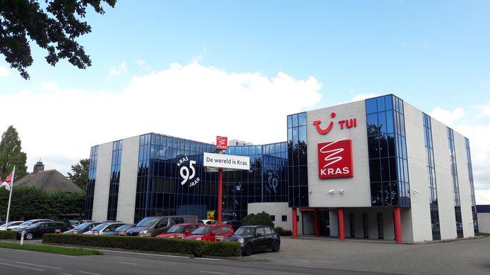 Het kantoor van Kras aan de Bernseweg in Ammerzoden. STOCK