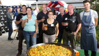 Buren Hogebrug vieren feest