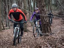 Bospad en landweg niet op voorhand dicht in de regio: mountainbikers zijn wel gewaarschuwd