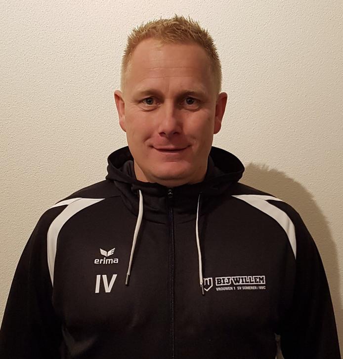 Ivo Veltrop, trainer ST Someren/NWC (vrouwen)