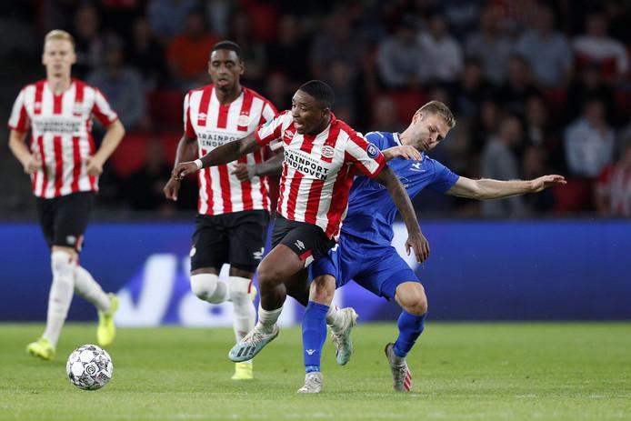 PSV kan gisteravond niet scoren tegen FK Haugesund.