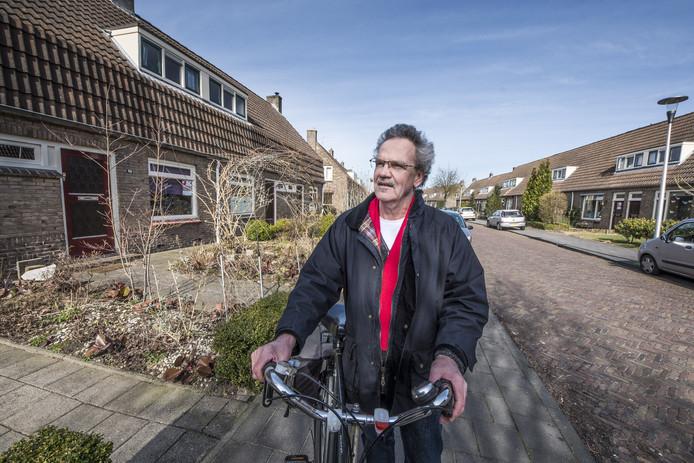 Vincent Mulder strijdt voor behoud van goedkope huurwoningen zoals hier in de  Mariastraat.