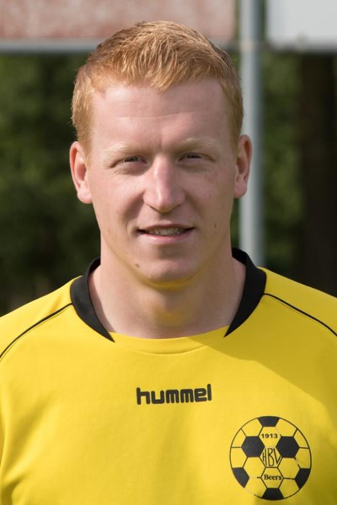 Voetballer Jeroen van Sonsbeek van HBV