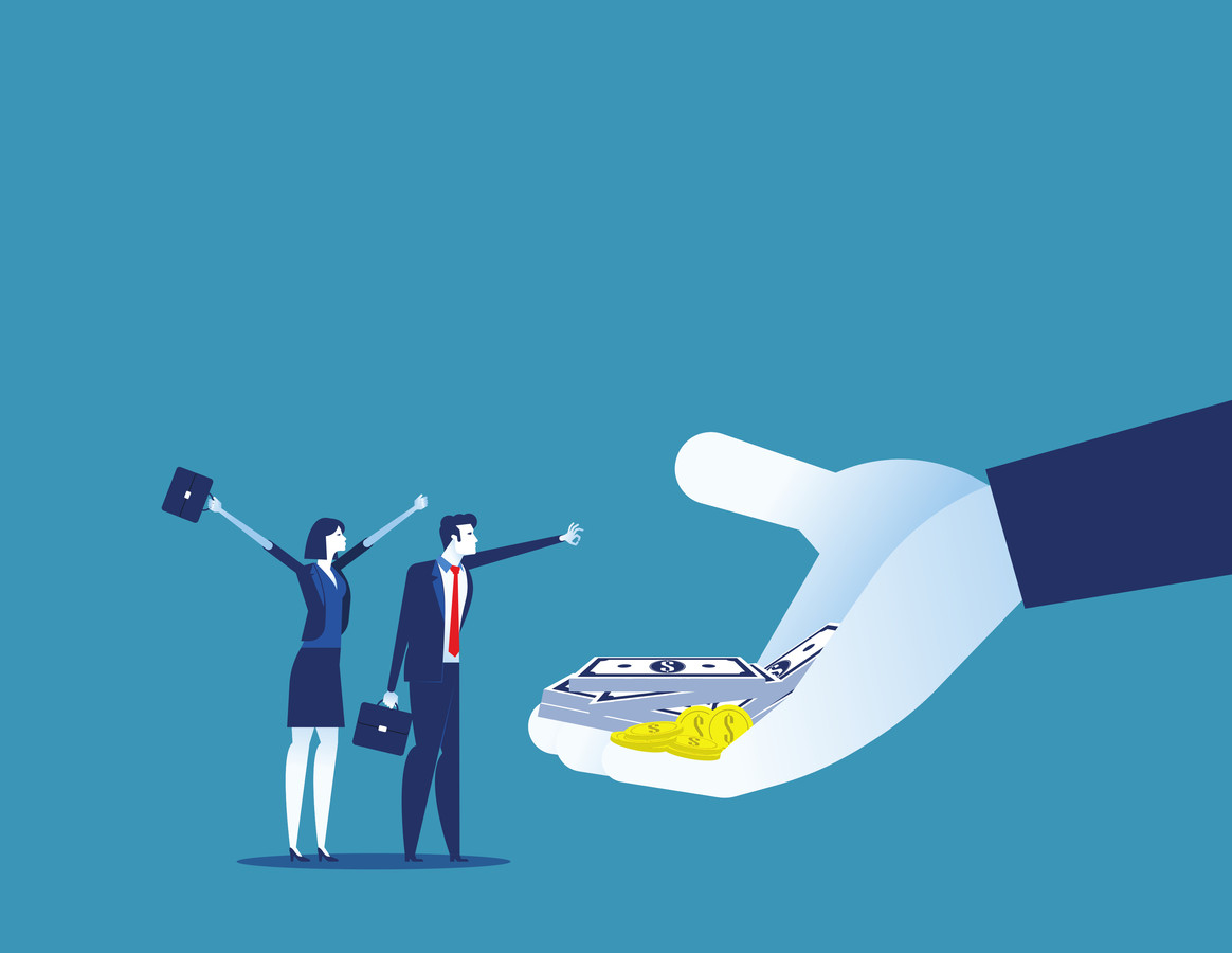 'Beloof je je werknemers te grote bonussen dan kakken prestaties ontzettend in.'