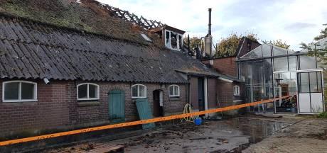 Brand aan Broekhuisdijk Bathmen begon in de schoorsteen