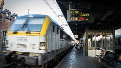 Ook in april reden treinen minder stipt