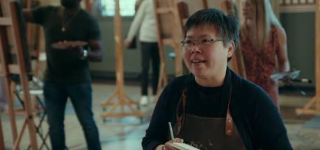 Kijkers zijn beteuterd om vertrek Melda uit Project Rembrandt