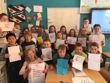 Leerlingen basisschool in Ens houden eigen verkiezingen