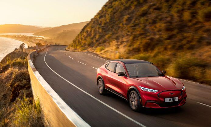 De nieuwe, elektrische Ford Mustang Mach E