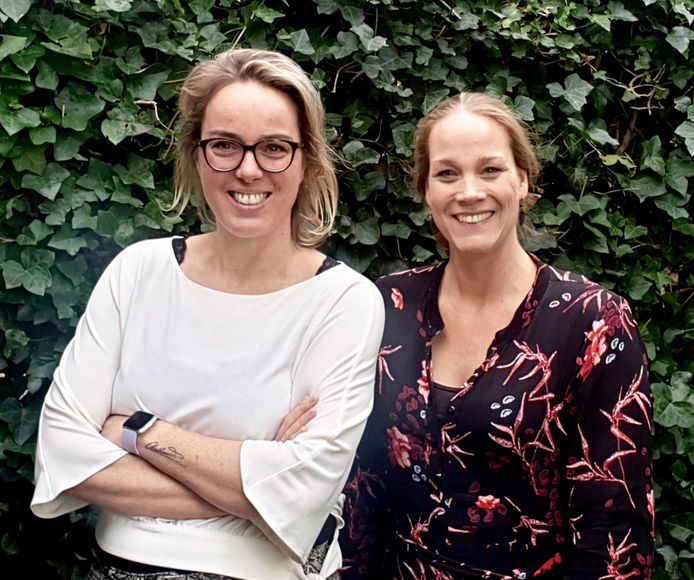 Nathalie van Hooijdonk en Tanja Kluytmans, initiatiefnemers van WijkConnect Reeshof.