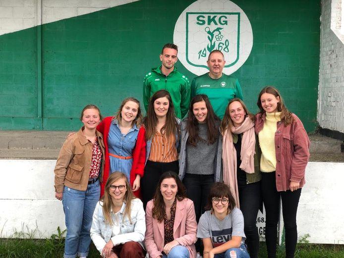 Vanaf volgend seizoen treden de SKGirls aan in derde provinciale.