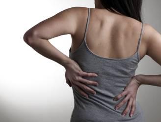 Rugpijn treft even veel jongeren als 65-plussers
