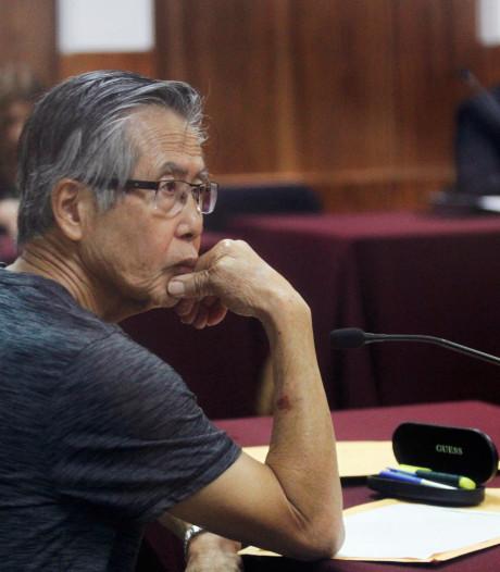Oud-president Peru na gratie weer voor rechter; nu voor moord op zes boeren