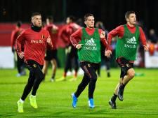 Romelu Lukaku et Thomas Vermaelen absents de l'entraînement des Diables Rouges