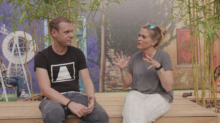 Armin Van Buuren en Karen Damen