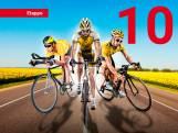 Lezerstour: Martin Bergsma rijdt net op tijd weg van 21 man sterke kopgroep
