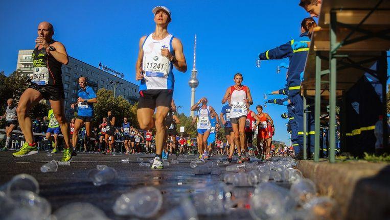 Marathonlopers in Berlijn Beeld epa