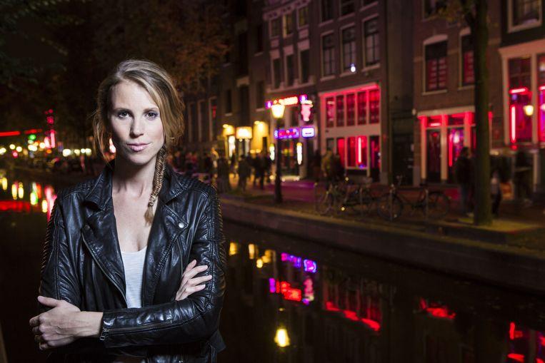 Journalist Jojanneke van den Berge dook twee jaar lang in de wereld van prostitutie en mensenhandel. Beeld EO
