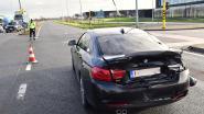 Fraaie BMW zwaarbeschadigd na aanrijding door vrachtwagen