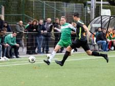 Winnende voetballers AWC vechten als leeuwen