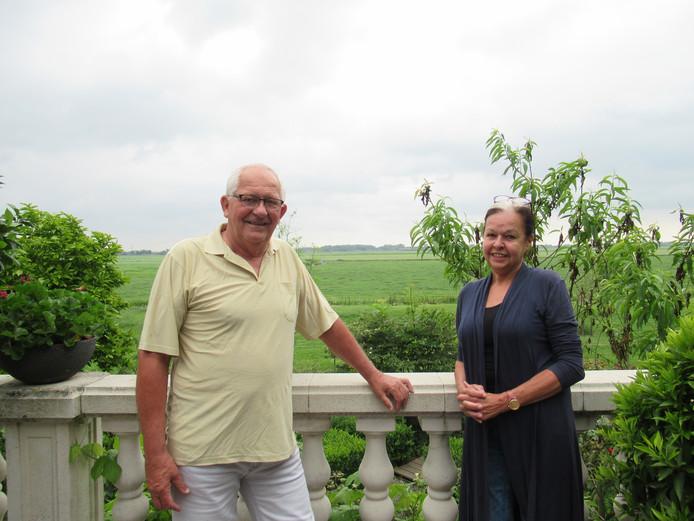 Leo en Aja Verheul voelen zich heel erg thuis in Zwanegat.