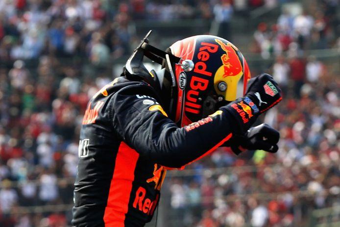 Max Verstappen wint de GP van Mexico in 2017