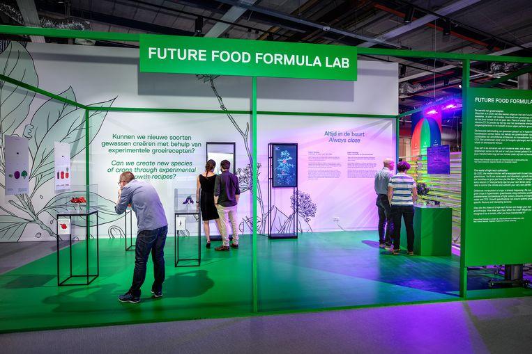 Expositie Voedsel van Morgen Beeld NEMO Science Museum
