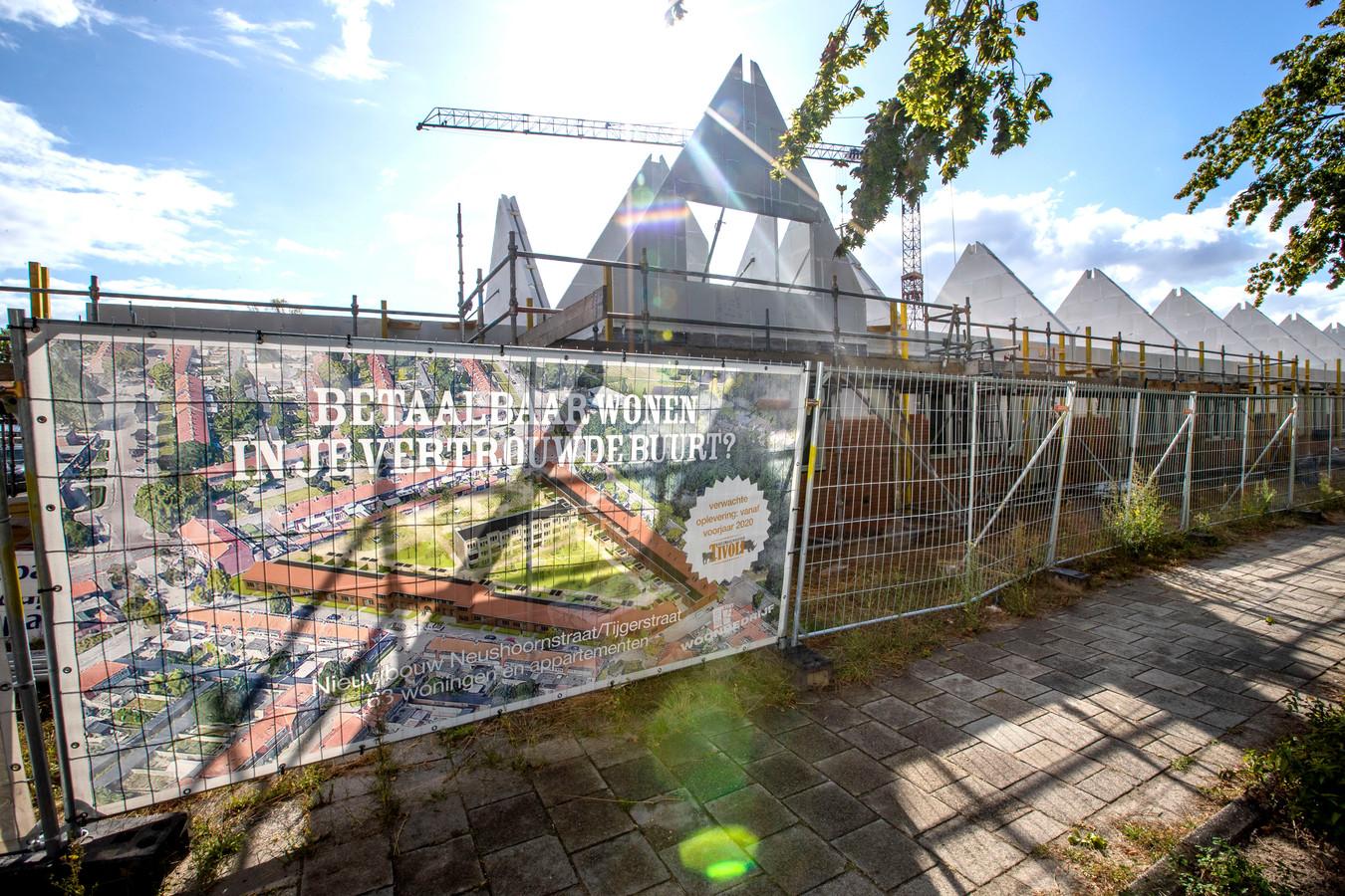 Nieuwbouwwijk bij de Tijgerstraat/Neushoornstraat Eindhoven