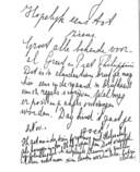 Het briefje dat Elly Lobe uit de trein gooide