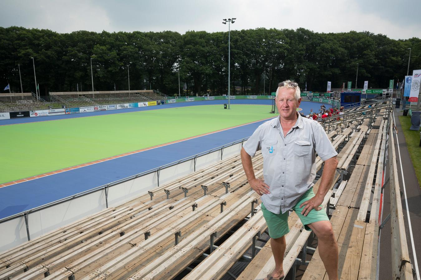 Bertus Dokter, voorzitter van skeelerclub Oost-Veluwe.