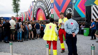 Geen veiligheidsincidenten op Rock Werchter, wel blijft het druk voor het Rode Kruis