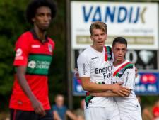 El Haddouti schiet Jong NEC met hattrick langs Heerenveen