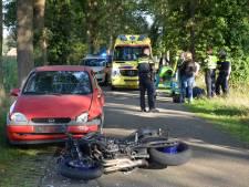Motorrijder gewond bij aanrijding in buitengebied Vorden