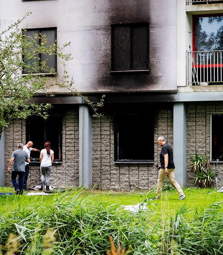 Politie zoekt beelden van brand in flat Diemen