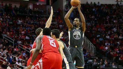 Golden State en Cleveland gaan onderuit in de NBA