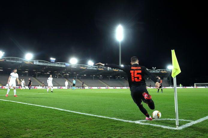 Geen toeschouwers bij het Europa League-duel LASK – Manchester United.